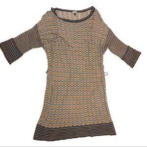 Missoni Dresses - Missoni A Line Shift Dress Size 10 Chevron